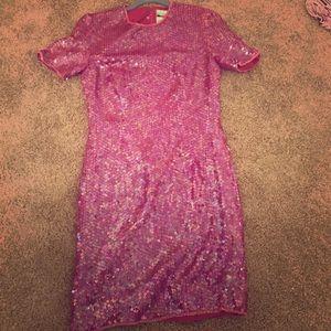 Sequins mid dress